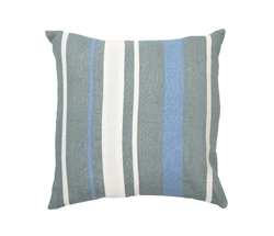 Modern Regens Stripe Cross Celladon Pillow