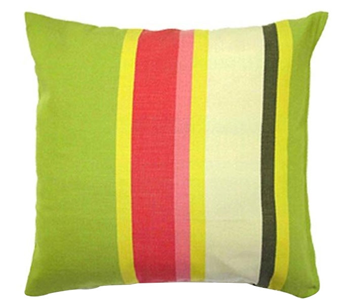 "Fresh Lime Fabric Modern Pillow 19"" x 24"""