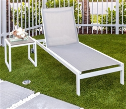 Anacapri Sun Lounger in espresso available at Modern Home 2 Go