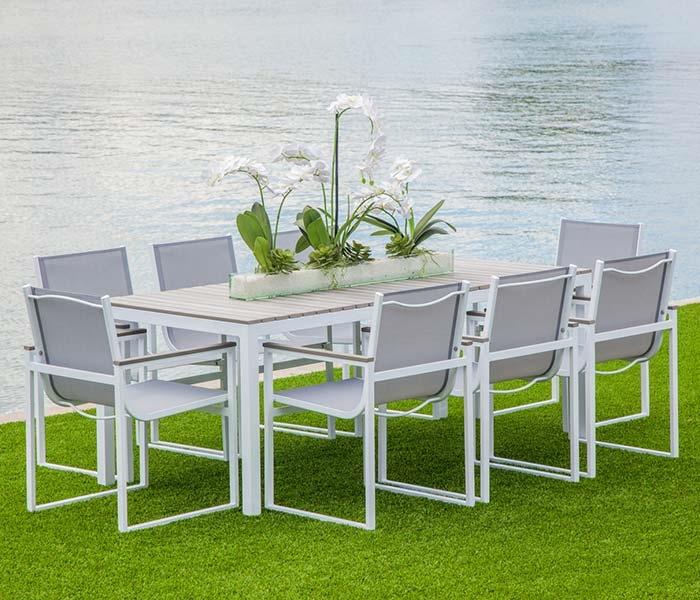 Anacapri Modern Outdoor Dining Set