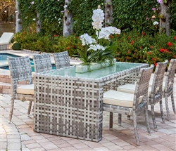 Savelli Modern Outdoor Patio Dining Table