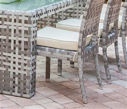 Savelli Modern Outdoor Patio One Dining Chair