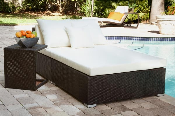 Outdoor Bed mh2g -outdoor furniture- bonete outdoor bed lounger