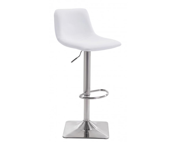 Cougar Modern Bar Chair White Eco-Leather