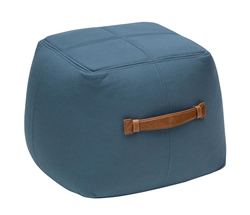 Modern Ottoman - Modern Fabric Ottoman Light-Blue - Mh2g