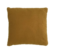 "Velvet Gold Modern Pillow 20"" x 20"""