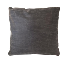 "Vintage Dark grey Modern Pillow 20"" x 20"""