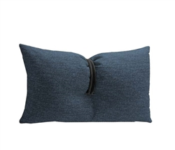 Light-Blue Fabric Modern Pillow
