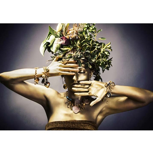 Nature Woman III Modern Plexi Art