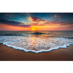 "Sunset Daze Modern Plexi Art 40"" x 60"""