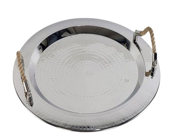 Marina Round Modern Tray on sale