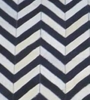 Chevron Cowhide in multiple sizes