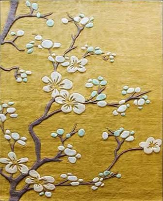 Cherry Blossom Rug 6 X 9
