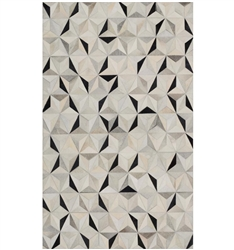 Trail Modern Cowhide Rug Charcoal Collection