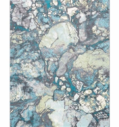 Modern rugs - Aberdine Modern Rug teal Collection -MH2G