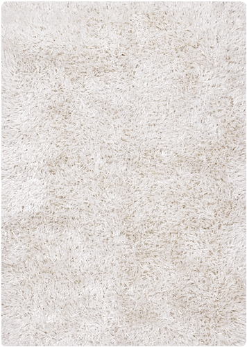 Indore Hand-woven Contemporary Rug White 9x14