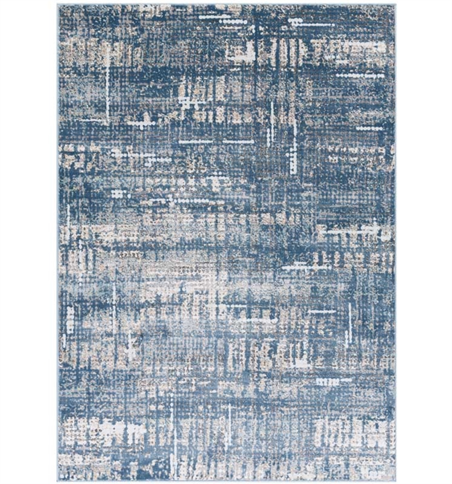 Maxwell Modern Rug Sky Blue Cream, Light Gray, Medium Gray