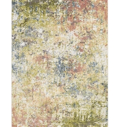 New Mexico Modern Rug Mix Orange Collection