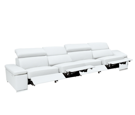 Elysee Modern Sectional Ultra-white 4 RECLINER RF
