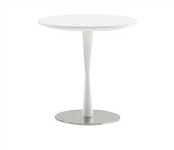 Piro Modern Side Table in White