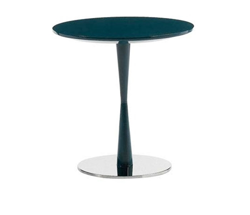 Piro Modern Side Table in Black Floor Sample