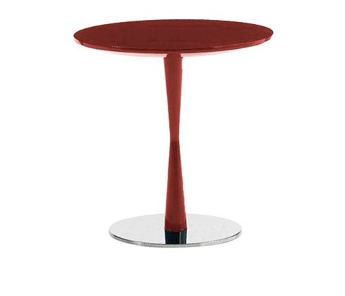 Piro Modern Side Table in Red