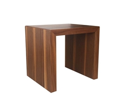 Cilento Modern Nesting Table Small in Walnut