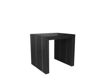 Cilento Modern Nesting Table Small in Wengue