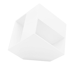 Surano Modern Side Table in White