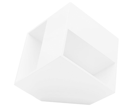 Surano White Lacquer Side Table  is on Sale at Mh2g