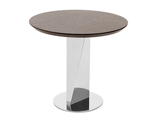 Pavia Modern Side Table in Wengue