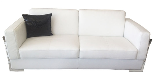 Stylish Sofa Set in White