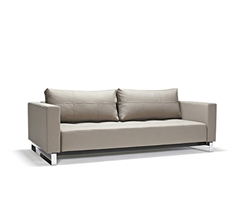 Sofa Bed - Cassius Deluxe Excess Medium Grey Fabric - MH2G