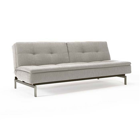 Dublexo Deluxe Modern Sofa Bed Mixed Dance Natural Stainless Steel Legs