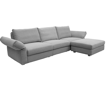 Modern Sofa - Modern Fabric Sectional - mh2g