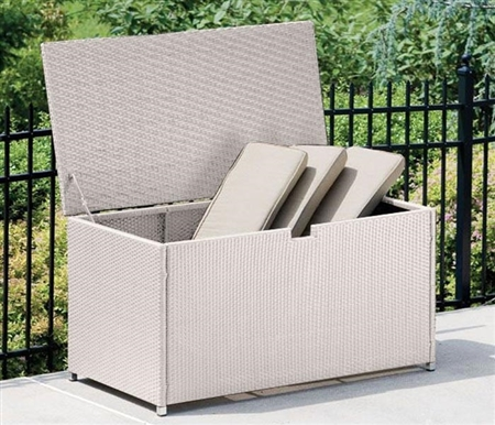 Trivoli Modern Storage Box in Light-Grey