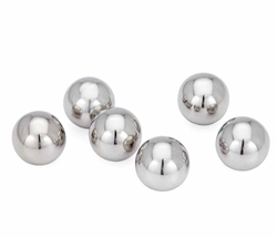 Sphere Decor Ball, Set of Six - SMALL