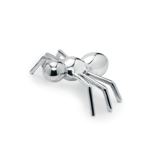Aluminum Ant Decor. These contemporary aluminum décor ants make a unique conversation piece and are heavy enough to use as paperweights.