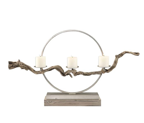 Ameera Modern Candleholder Accessory