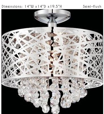 A stylish and attractive lamp fixture, modern