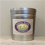 Coastal Maine Popcorn 3.5 Gallon Popcorn Tin