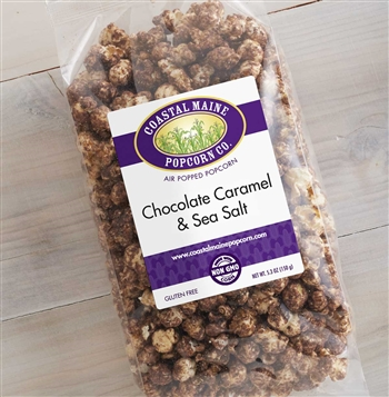 Chocolate Caramel & Sea Salt Popcorn