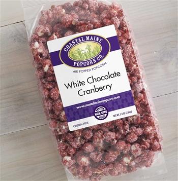 White Chocolate Cranberry Popcorn