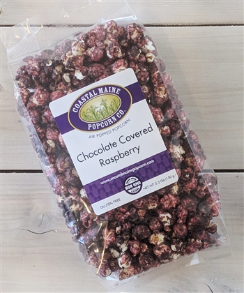 Chocolate Covered Raspberry Popcorn