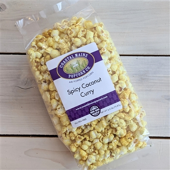 Spicy Coconut Curry Popcorn