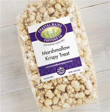 Marshmallow Krispy Treat Popcorn