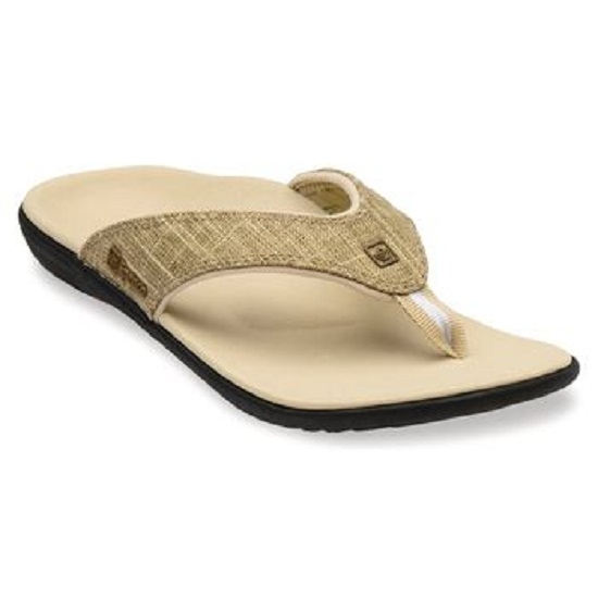 d53881301 Spenco Medical Total Support Yumi Gold Canvas Sandals