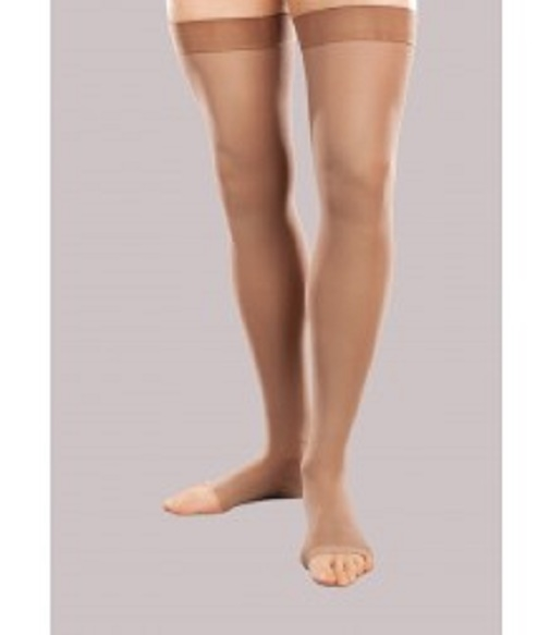 89872769c7 Jobst Opaque 30-40 Compression Stockings | Thigh High Open Toe Stockings