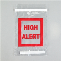 High Alert Tamper Indicating Bag, 6 x 8