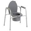 Invacare 557431 All In One Commodes Aluminum